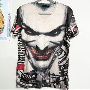JUST CAVALLI Joker Short Sleeve Tee Size XL
